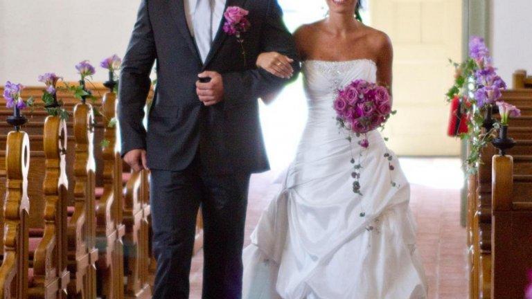 4. Съжаляваме, момчета, но е заета. Още през 2010 г. Мишел се омъжи за шведския културист Джими Люин, откъдето и фамилията й. Сега Джими е неин треньор, агент, помага й в управляването на социалните мрежи и нейният най-добър приятел.