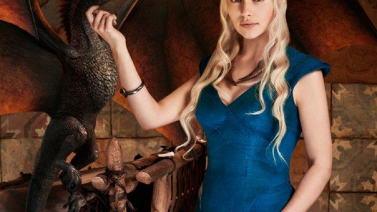 Русата покровителка на дракони Денерис Таргариен е един от най-силните персонажи в сериала