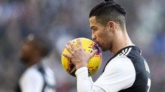 28 от 28: Роналдо продължава да бележи и донесе точката на Юве