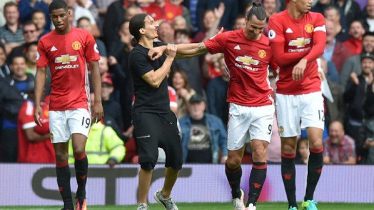 Манчестър Юнайтед – Лестър 4:1: Има място само за един Златан!