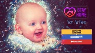 7-месечният Артър, който се разболя от COVID-19 въпреки изолацията
