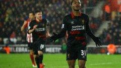 Рахийм Стърлинг вкара втория гол за Ливърпул за победата срещу Саутхемптън