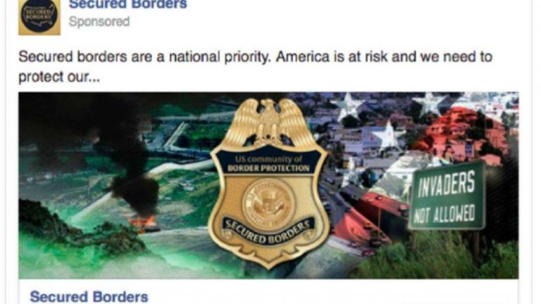 """""""Сигурните граници са национален приоритет. Америка е изправена пред риск и трябва да защитим границите си. Нашествениците не се допускат"""""""