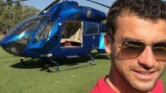 И тази година Григор имаше възможност да се полюбува на Тихия океан от борда на хеликоптер