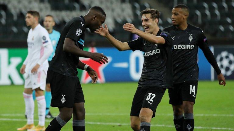 Реал едва се спаси от загуба в Шампионската лига, последен е в групата си