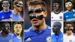 Ето го идеалния отбор на Челси от маскирани по постове...