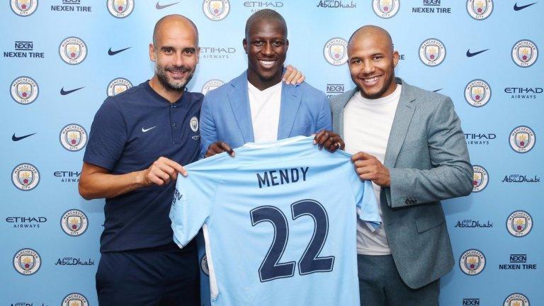 Бенжамен Менди, от Монако в Манчестър Сити Цена: 57,5 млн. евро Оценка: 28,5 млн. евро Надценен с: 29 млн. евро