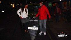 В една от вечерите таксито на Heineken отвежда Венелина и Георги в, както те го наричат, лондонския студентски град