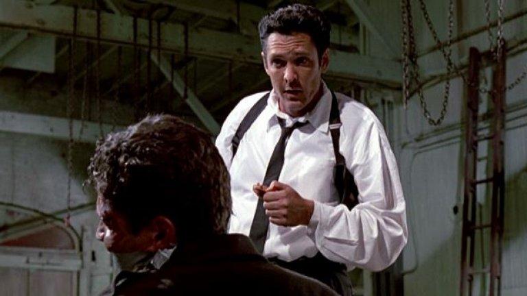 Майкъл Медсън в спорната сцена от филма.