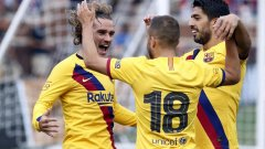 Барселона даде повод на феновете си за оптимизъм преди началото на сезона.