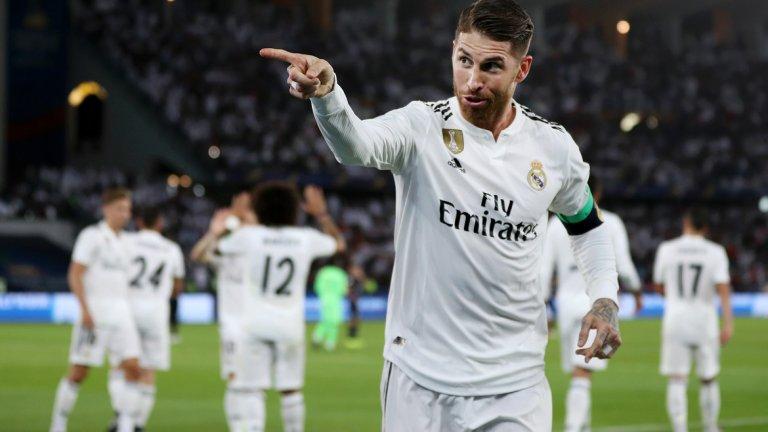 След отбелязването на гола, Рамос направи знак на освиркващата го публика да замълчи, а после отиде при резервите и прегърна съотборника си Иско, който изживява трудни дни в отбора