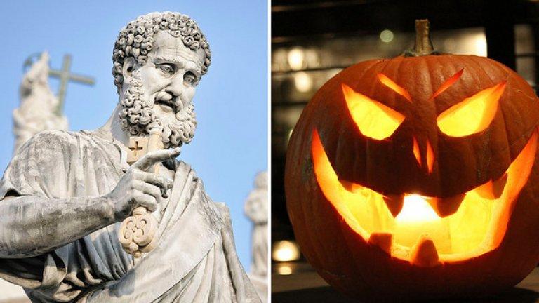 Единият празник е езически, а другият християнски, наложил се на същата дата.