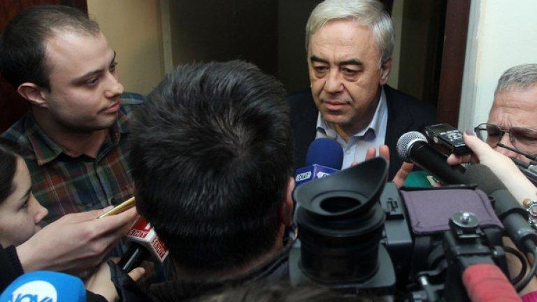 Красимир Кънев заяви, че БХК не прави номинациите, а отделни хора, както и че той самият не би могъл да изкаже подкрепа за Полфрийман, защото го защитава пред Европейския съд за правата на човека в Страсбург