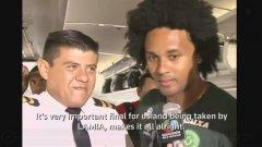 """Репортаж, заснет преди отлитането към Колумбия, показва играч на Чапекоензе и един от пилотите: """"За нас този финал е много важен и всичко ще е наред, щом LAMIA ни вози"""""""