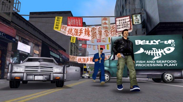 …заради Grand Theft Auto III  Вселената на GTA е като магнит за всеки, който иска да вкуси от подземния престъпен свят напълно безопасно, а именно - пред монитора вкъщи. Играта обаче е първопричина за не едно и две съвсем реални престъпления, като едно от най-шокиращите се случва в американския град Нюпорт, щата Тенеси. Двама доведени братя на 14 и 16 години се вдъхновяват твърде много, крадат пушките, които баща им притежава, излизат от дома си и започват да стрелят по преминаващите коли.  Пътят пред къщата на тийнейджърите е натоварена междущатска магистрала, така че засегнатите от инцидента са десетки. Мъж на 45 години е убит, а младеж на 19 едвам оцелява след стрелбата. Въпреки невръстната си възраст, момчетата са осъдени за предумишлено нападение и убийство и са изпратени в изправителна институция.
