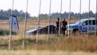 Инцидентът е станал със самолет за скокове с парашут