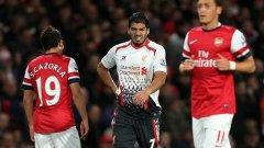 Луис Суарес в Ливърпул във Висшата лига: 110 мача 69 гола 34 асистенции