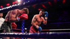 Капитанът на националите ни по кикбокс Атанас Божилов се изправи срещу много тежък противник от Беларус в двубой по правилата на К-1 в категория до 75 кг.