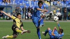 Георги Христов има едва 5 гола в 30 мача за Левски този сезон
