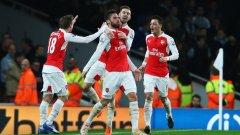 Манчестър Сити срещу Арсенал е гвоздеят на днешната програма