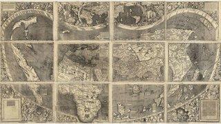 """""""Въведение в Космографията"""" - едно революционно изобразяване на новия свят"""