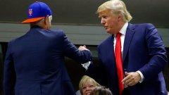 Доналд Тръмп беше сниман с Джон Макенроу на финала на US Open, но тенис легендата пази мълчание по политически въпроси. Да видим кой може да подкрепи скандалния Тръмп...