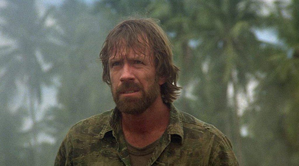 """Missing in Action  Подобна галерия няма как да мине без филм с Чък Норис. Това е може би най-известният му филм, най-успешният клонинг на """"Рамбо"""" и със сигурност един от най-слабите екшъни на десетилетието."""