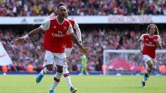 Обамеянг вече има 7 гола срещу Бърнли само в 4 мача срещу този съперник