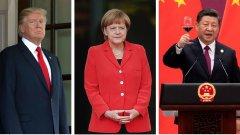 Не че лидерите на Стария континент застават зад народната република, но все по-малко вярват на администрацията на Тръмп