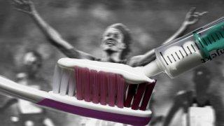 Дитер Бауман. Германският лекоатлет е категоричен, че някой е поставил нандролон в пастата му за зъби.