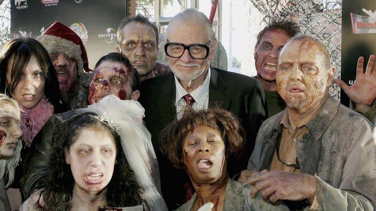 Режисьорът, който ни научи да се страхуваме от зомбита и някои от най-популярните му филми. Вижте ги в галерията: