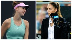Тенисистка помоли съдийката да накаже треньора ѝ (видео)
