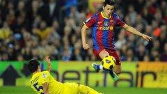 Давид Вия вече има девет гола срещу Виляреал в кариерата си