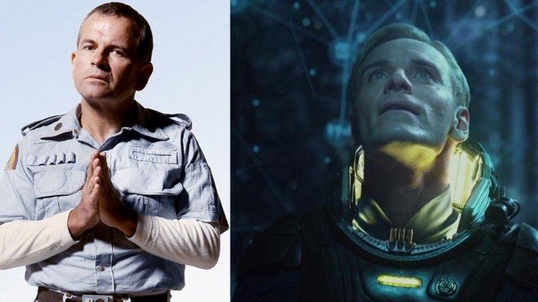 """Андроидите Аш и Дейвид, Alien/Prometheus (1972/2012 г.)  Ридли Скот има някакъв проблем с изкуствения интелект... Вече споменахме репликантите, но трябва да се отбележи, че в друг негов филм андроидите отново са проблем. Става дума за """"Пришелецът"""", където екипажът на космически кораб се сблъсква с изключително опасен извънземен вид. Една от заплахите обаче е част от самия екипаж - това е андроидът Аш (Иън Холм), чиято цел е да опази извънземното дори това да коства живота на екипажа. Скот продължи тази тема няколко десетилетия по-късно в предисторията на """"Alien"""" - """"Prometheus"""". Тук андроидът се казва Дейвид и се интересува много повече от извънземния живот, отколкото от човечеството. Отговорът на въпроса """"Защо?"""" е налице в продължението """"Alien: Covenant"""", където Скот едва ли не ни казва, че изкуственият интелект е много по-опасен от извънземни чудовища с двойни челюсти и киселинна кръв."""