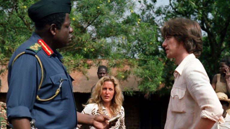"""""""Последният крал на Шотландия"""" е шотландски филм, но действието се развива в Африка. Там млад шотландски лекар започва да работи в клиника в Уганда и се запознава с новопровъзгласения президент Иди Амин. За превъплъщението си в ролята на президента, Форест Уитакър взима Оскар за най-добър актьор и БАФТА в същата категория, както и Златен глобус за най-добър актьор в драматичен филм от 2007г. и това никак не е незаслужено."""