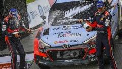 Хейдън Падън спечели в Аржентина първата си победа в световния рали шампионат