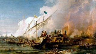 Великите военни изцепки: Битката при Превеза (1538 г.)