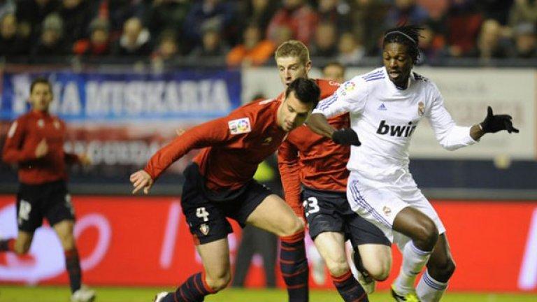 Еманюел Адебайор се надява да остане в Реал