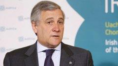 Председателят на ЕП Антонио Таяни коментира, че Великобритания ще трябва да представи основателна причина, за да иска отсрочка