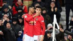Атаката на Юнайтед заработи едва през втората част срещу скромния Колчестър