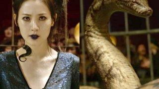 """Клаудия Ким е в ролята на момичето, прокълнато да бъде превърнато в змия във """"Фантастични животни 2"""""""