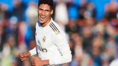 Рафаел Варан стана герой за Реал Мадрид с участие в два от головете