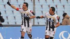 Антонио ди Натале и Алексис Санчес може да са високи средно 169 см (от 170 и 168), но отбелязаха общо 40 гола (съответно 28 и 12) за историческото класиране на Удинезе в Шампионската лига
