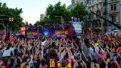 """Хиляди се стекоха за парада на Барселона след спечелената Шампионска лига. Пътят към """"Камп Ноу"""" бе засипан от хора. Няма как да пропуснем стадиона на каталунците в подобна класация. Но кои са останалите девет в нашия топ 10?"""