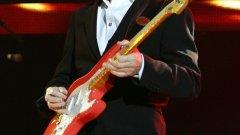 Ханк Марвин е човекът, който стартира Stratocaster-модата във Великобритания