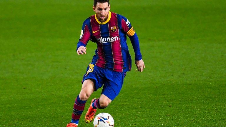 Барселона ще преподпише с Меси за мача срещу Ювентус