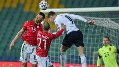 България показа желание, но не и класа срещу Италия