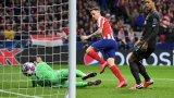 Саул бележи единствения гол, с който Ливърпул взе аванс срещу европейския шампион