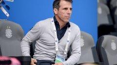 Дзола дойде на пресконференцията вместо Маурицио Сари.