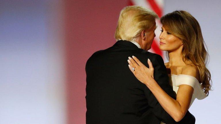 20 януари 2017 г.  - това е датата, на която Тръмп встъпва в длъжност, с което съпругата му Мелания става и първата дама на САЩ.  А ние можем да й пожелаем да се усмихва по-често, защото й отива.